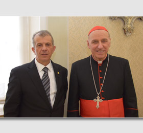 Sua Eminenza Reverendissima Cardinale Severino Poletto